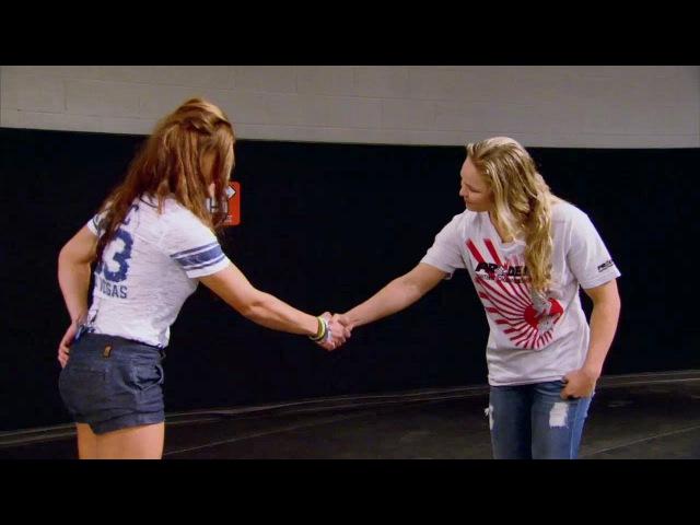 Ronda Rousey surprised by coaching change - TUF 18