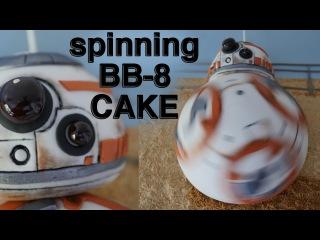 []  SPINNING BB8 CAKE STAR WARS 7 How To Cook That Ann Reardon epic BB 8 cake