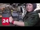 Экипаж машины боевой как воюют за Донбасс Малая Ветерок и Кнопа