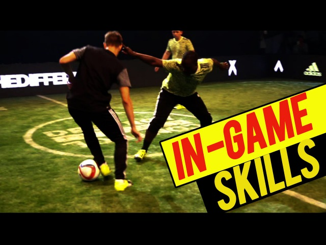 Crazy In-Game Skills! Nutmegs Goals