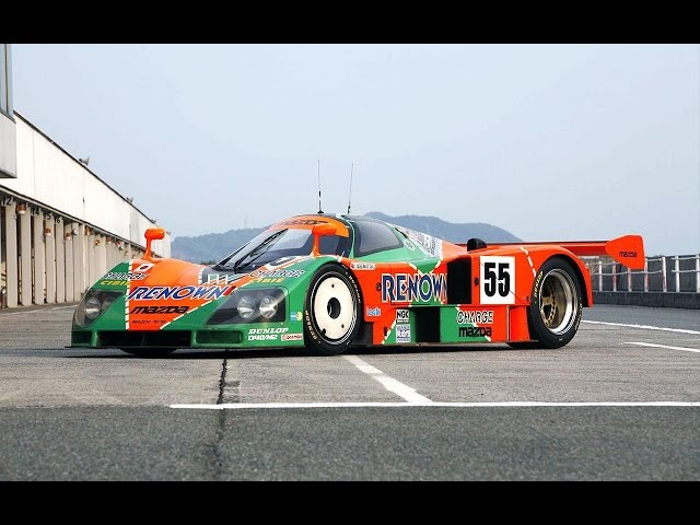 MAZDA 787B SCREAMING DOWN THE TRACK Is this worlds best souding car ever?
