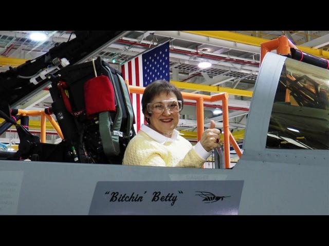 """Bitchin' Betty"" Says Farewell Beloved Voice Behind Boeing's FA-18 Super Hornet Retires"