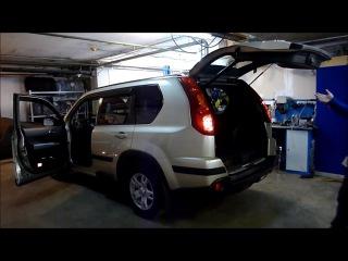 Автоматический багажник на Nissan X-trail