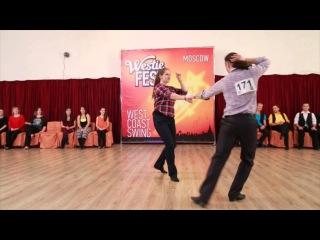 Moscow Westie Fest 2015. Intermediate. Final. Almaz El & Mikhalina Malinovskaya