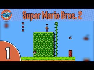 Прохождение Super Mario Bros. 2 (NES/Денди), мир 1-1: Новое приключение