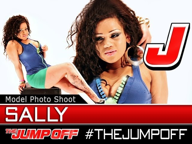 MODEL Sally Anne Dat Tag Clothing Live Model Photoshoot @ TheJumpOff 2012 WK04