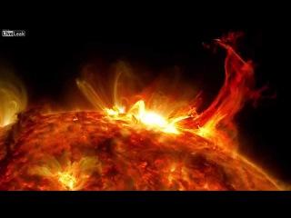 Невероятный монтаж снимков Солнца с 5-ти лет съемки спутника