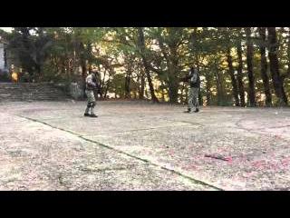 страйкбол  Сочи гора Ахун  заброшеный ресторан  Легион 7