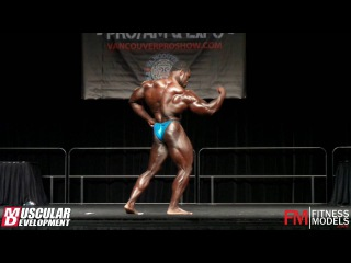 Brandon Curry's Posing Routine (2nd Place) - IFBB Vancouver Pro