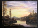 Paint with Kevin Hill - Sunset Lake