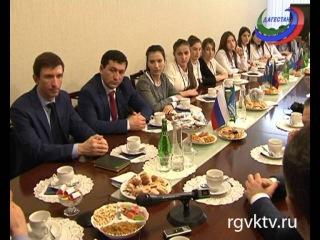 Хизри Шихсаидов встретился с участниками общественной организации «Молодой политик»