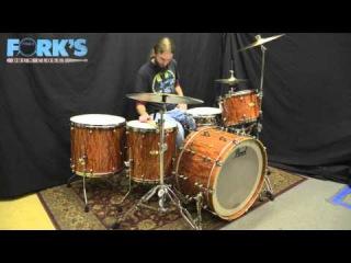Pearl Masterworks Drum Set Maple/Mahogany 13, 16, 18, 24