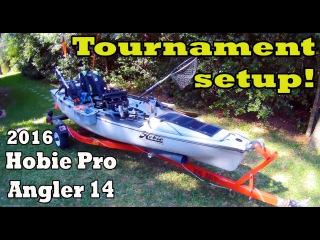 NEW 2016 Hobie Pro Angler 14 MODS!