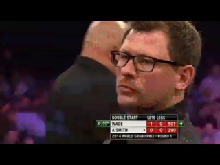 James Wade vs Andy Smith (World Grand Prix 2014 / First Round)