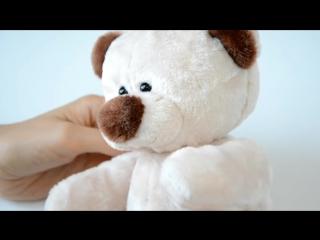 Мягкая игрушка своими руками Мишка Тедди Валентинка
