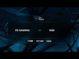 ProDota Gaming vs Slice N' Dice, Game 1, The Kiev Major EU Open Qualifiers