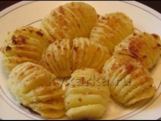 """Печеный картофель """"Гассель"""""""
