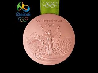 Бронзовая медаль Стефании Елфутиной