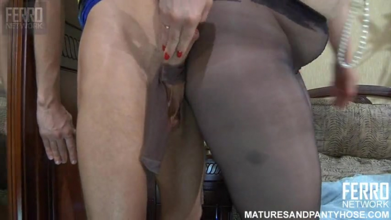 Ferro Network Flo Matures And Pantyhose (mature, MILF, BBW, мамки порно