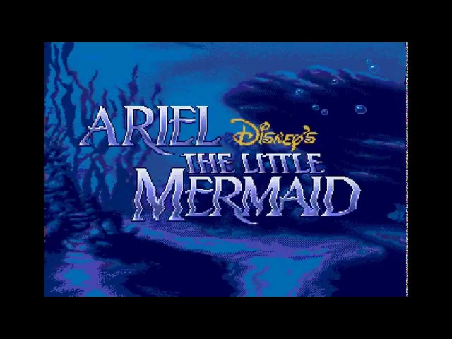 Ariel - The Little Mermaid (Sega Genesis) Full Walkthrough on Difficult