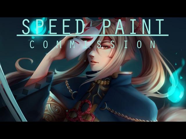 Speed Paint- Commission Lyra- Paint tool sai- Lulybot