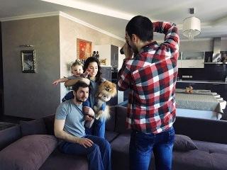 Backstage - семейная фотосессия в Киеве