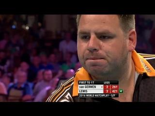 Michael Van Gerwen v Adrian Lewis (PDC World Matchplay 2016 / Semifinal)