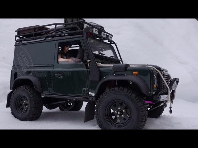 Rc Land Rover defender 90 WildBrit defender 110 HCPU