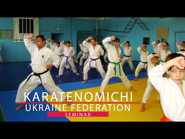 Семинар по Каратэномичи Розумович Сергей 3 Дан часть 1