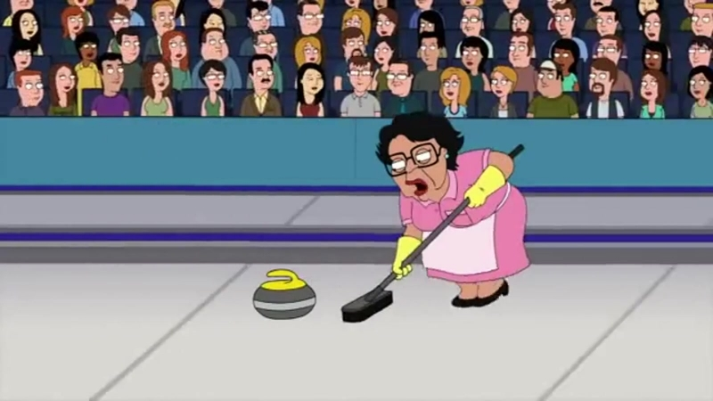 Consuela Curling (Special for Sochi 2014 Olympics)