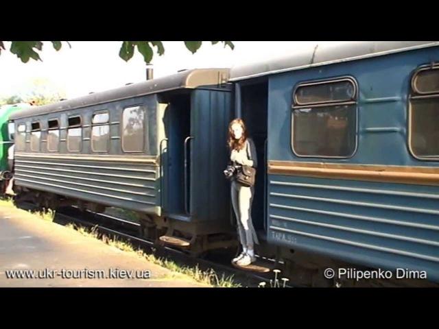 Узкоколейка Антоновка - Заречное (1-я часть)