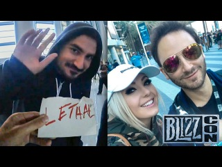 Reckful  BlizzCon Day 2: Kripparian, Incognito Jessica Nigri, Free Hot Dog from Korean Rapper