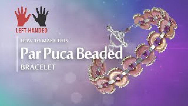 Left handed ★ Par Puca Beaded Bracelet Seed Beads