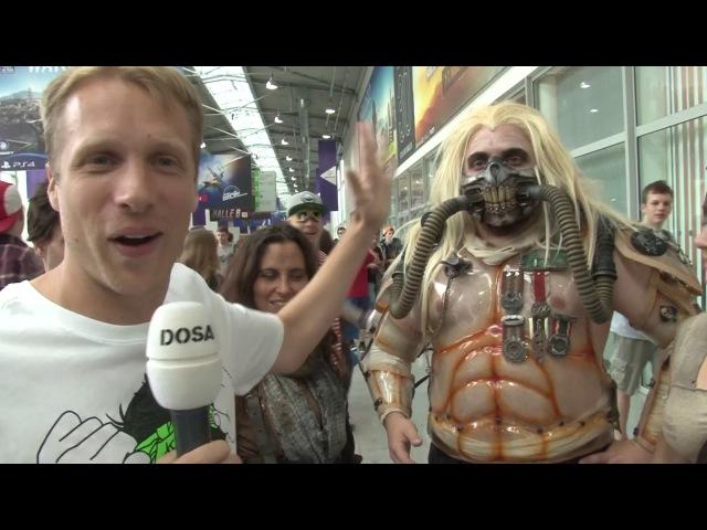 NOCH NIE GEZEIGTE SZENEN! Pocher an der Gamescom 2015 2016