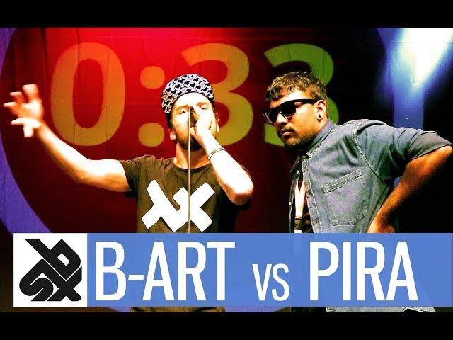 B-ART vs PIRATHEEBAN   Shootout Beatbox Battle 2017   SEMI FINAL