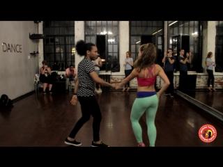Bachata, Wilkin Olivero & Мария Лунева, Derziritm dance school