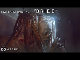 Speed painting: ''BRIDE''