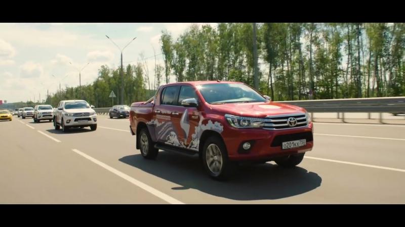 Вокруг света на воздушном шаре с Федором Конюховым и Toyota Hilux