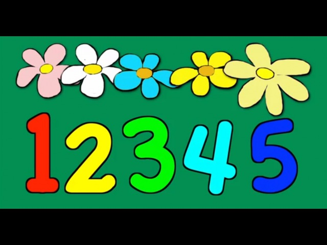 Counting 1 - 15   Children's song for learning to count [numbers counting]