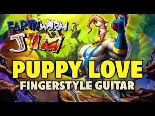 Earthworm Jim OST – Puppy Love (fingerstyle guitar TABS, speed x2)
