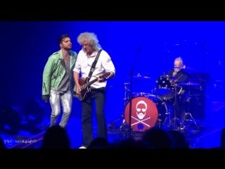 Queen + adam lambert - heartbreak hotel - park theater - las vegas - 9.8.18