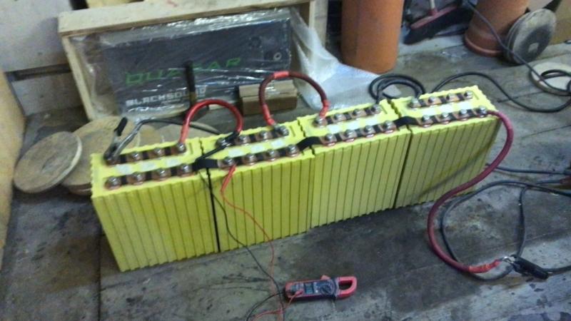 Зарядка лифера сварочным аппаратом