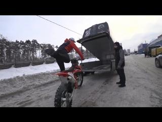 FMX-РАЙДЕР АЛЕКСЕЙ КОЛЕСНИКОВ ВЫБИРАЕТ KTM 450 SX-F