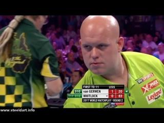 Michael van Gerwen vs Simon Whitlock (PDC World Matchplay 2017 / Round 2)