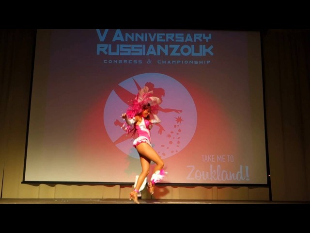 RZCC2016 Sara Pallares in performance ~ video by Zouk Soul