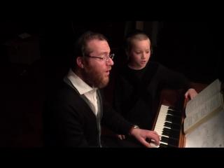 Yanky and Mendy Lemmer sing Karev Yom |