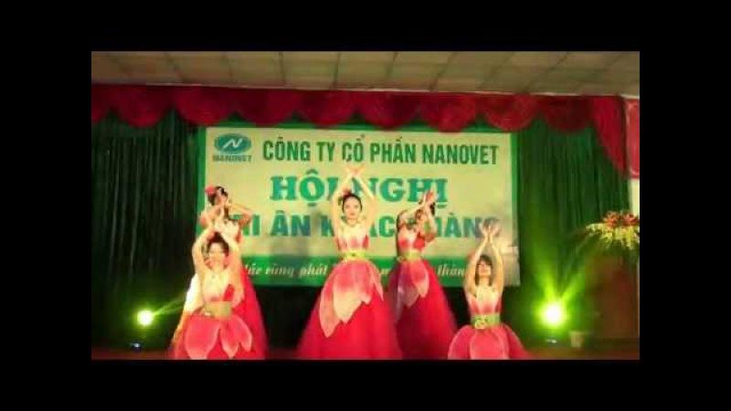 Múa Sen Hồng Văn hóa nghệ thuật NANOVET