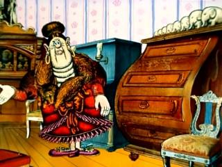 МУЛЬТФИЛЬМ - 1984 - Доктор Айболит. Серия 3. Варвара - Злая Сестра Айболита (ДАВИД ЧЕРКАССКИЙ)