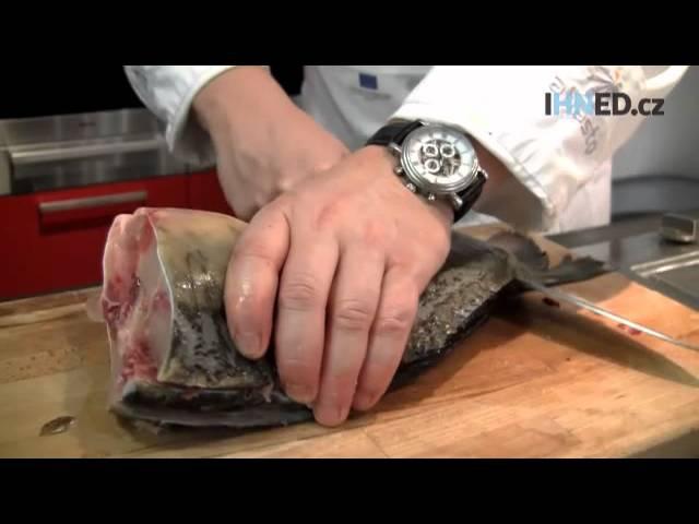 Jak kapra zbavit téměř všech kostí? Udělejte z něj filety, radí šéfkuchař Radek Šubrt