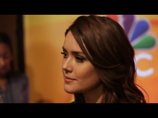 The Knockturnal/NBC 2017 Midseason Press Day Megan Boone on The Blacklist and Redemption